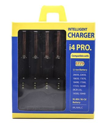 Nitecore Intellicharger i4 PRO Mod Battery Charger